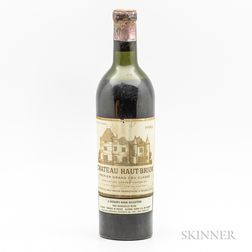 Chateau Haut Brion 1952, 1 bottle